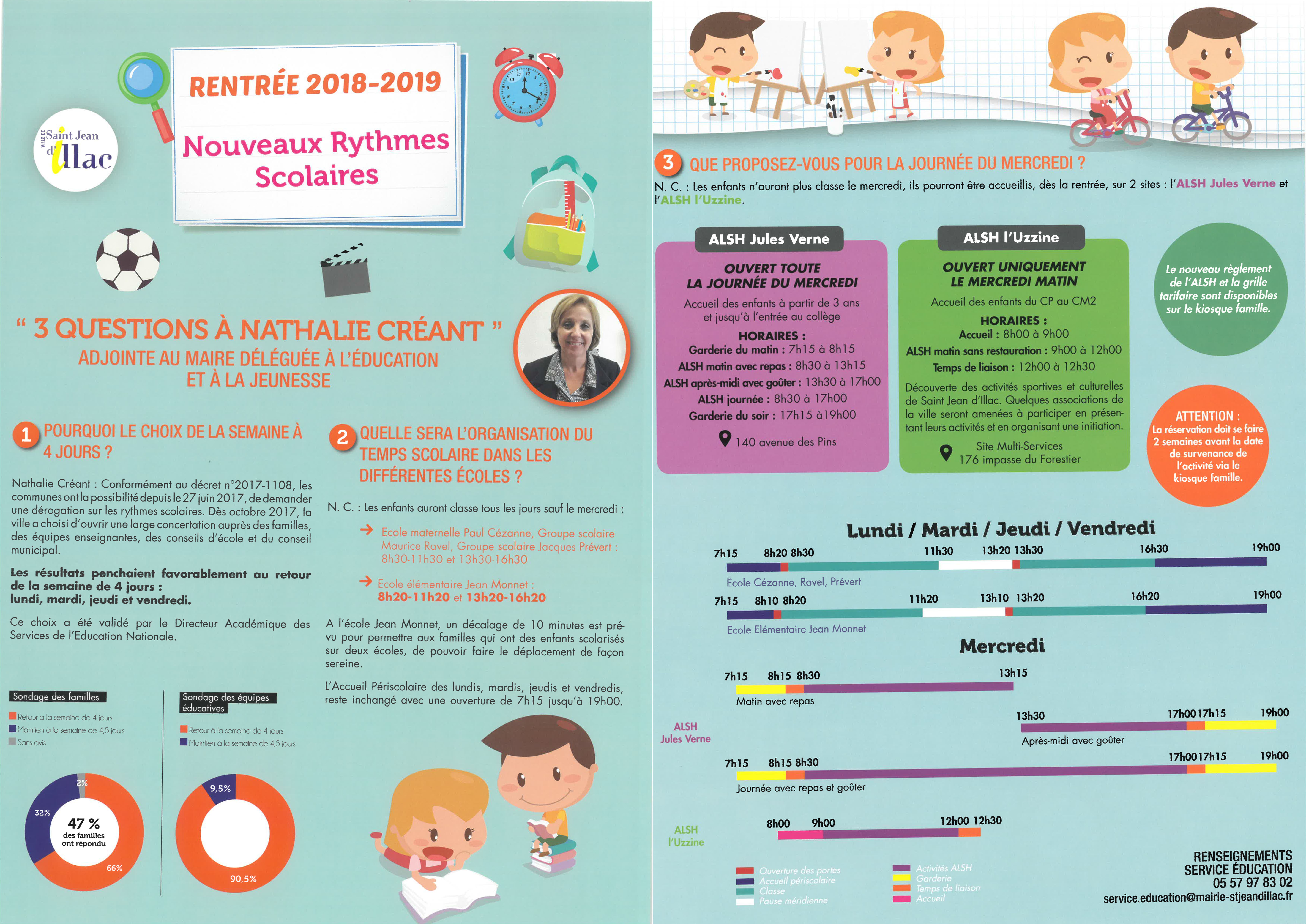 FLYER RYTHMES SCOLAIRES